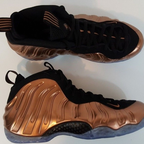 best website def64 17e40 Nike Air Foamposite One Metallic Copper Men Sz 10